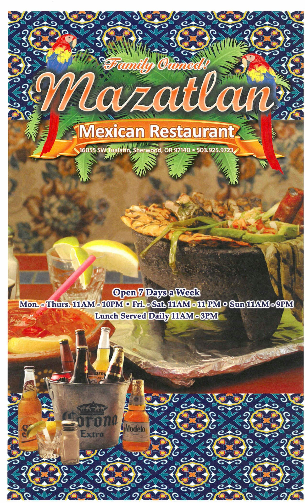 Been to Mazatlan Mexican Restaurant? Share your experiences!